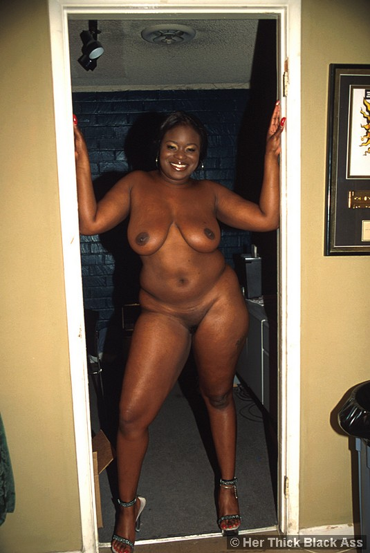 Thick Black Girl Big Ass