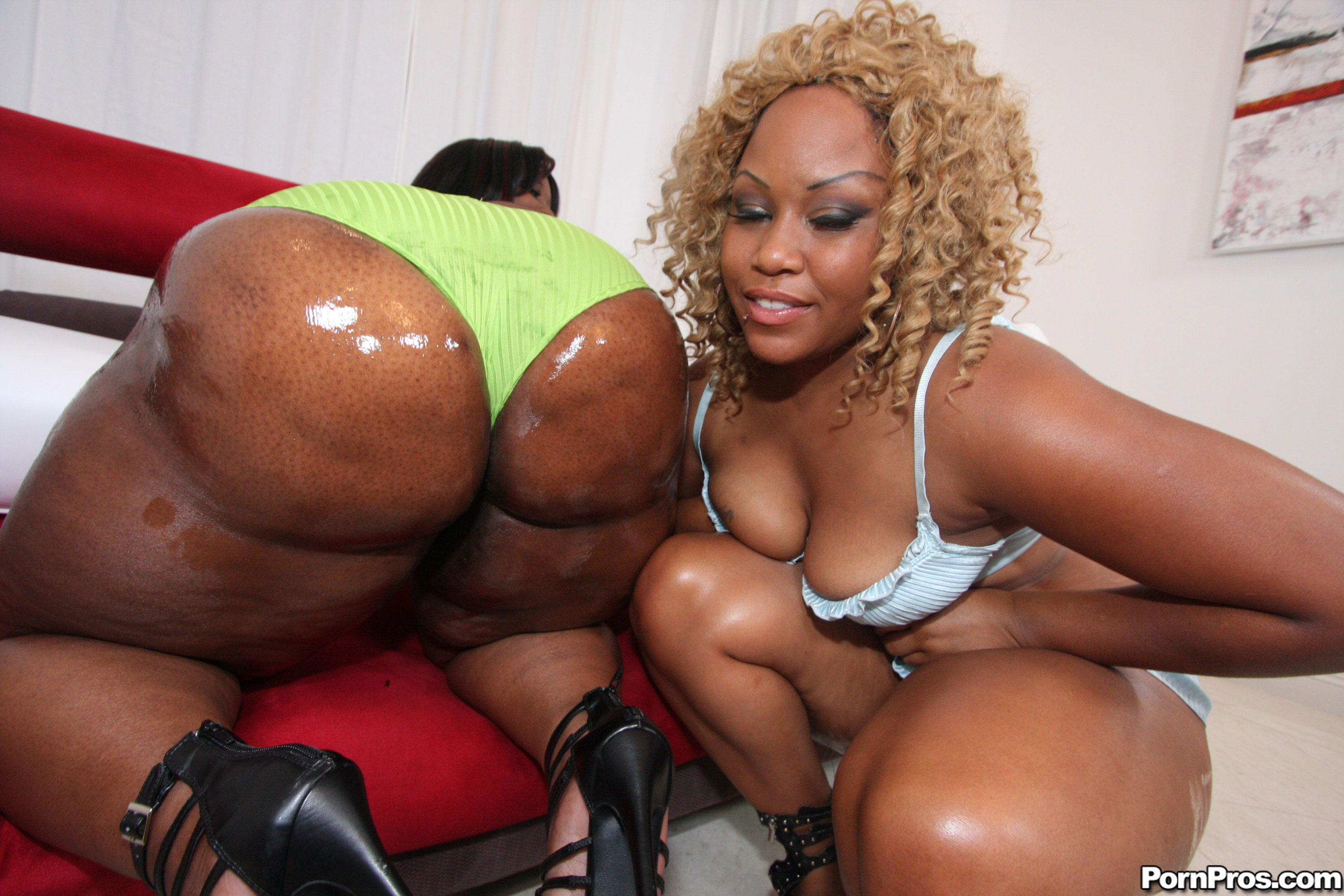 Ebony Round Ass Creampie